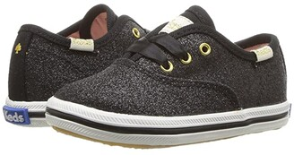 Kate Spade Keds x Kids Champion Glitter Crib (Infant/Toddler) (Black) Girl's Shoes