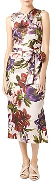 Hobbs London Thao Belted Floral Dress