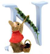 Beatrix Potter NEW Alphabet Initial N Cotton-Tail