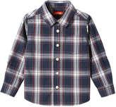 Joe Fresh Toddler Boys' Plaid Button Down Shirt, Blue (Size 3)