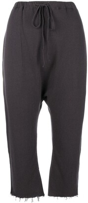 R 13 Frayed Drawstring Trousers
