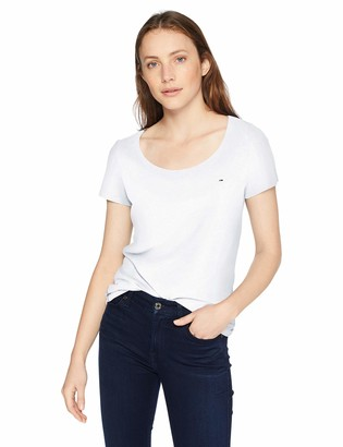 Tommy Jeans Women's Original Triblend Short Sleeve Crew Neck T-Shirt