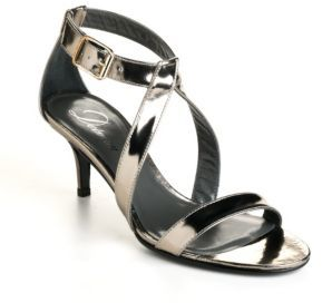 Delman Tori Leather Sandals