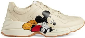 Gucci x Disney Rhyton Mickey Mouse-print sneakers