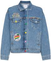 Mira Mikati Venice Beach Patch Denim Jacket