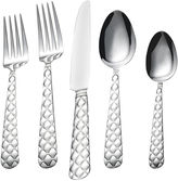 JCPenney BOMBAY Bombay Tufted 20-pc. Stainless Steel Flatware Set