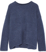 Vince Wool And Cashmere-blend Sweater - Blue