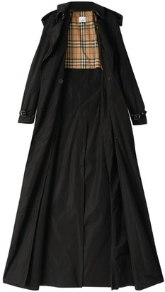 Burberry Extra-Long Taffeta Trench Coat