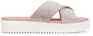 Carvela Crystal-Embellished Sandals