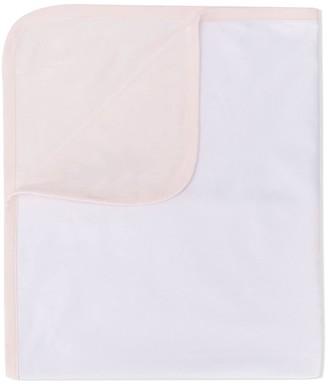 Emporio Armani Kids Contrast-Trim Blanket