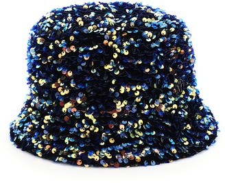 Maison Michel axel flora sequined bucket hat