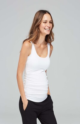 Isabella Oliver Ruched Maternity Tank