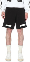 Off-White Stripe print cottton-jersey shorts