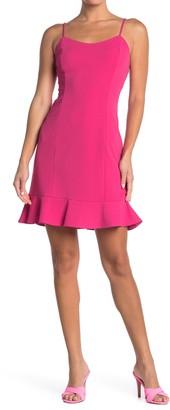 Betsey Johnson Scuba Crepe Mini Dress (Regular & Plus Size)