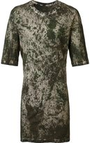 11 By Boris Bidjan Saberi camouflage long fit T-shirt - men - Cotton - S