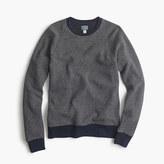 J.Crew Bird's-eye sweatshirt