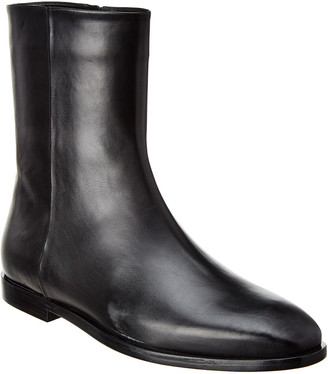 Theory Phacel Leather Bootie