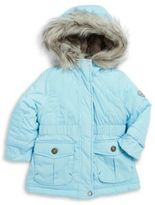 Jessica Simpson Faux Fur Trimmed Puffer Coat