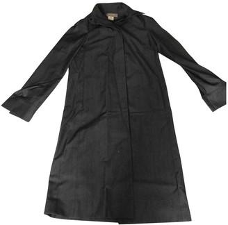 Lanvin Grey Wool Coat for Women Vintage