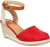 Style&Co. Style & Co Mailena Wedge Espadrille Sandals, Created for Macy's Women's Shoes