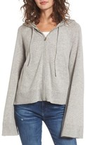Juicy Couture Women's Cashmere Bell Sleeve Hoodie