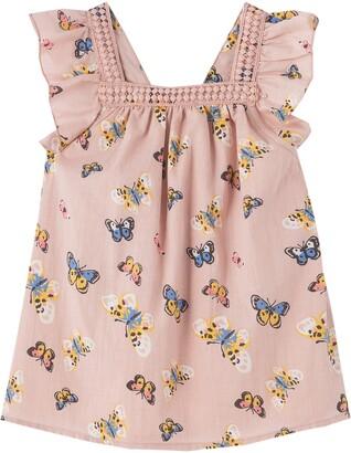 Peek Aren't You Curious Butterfly Print Dress