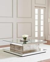 John-Richard Collection Parson Eglomise Square Coffee Table