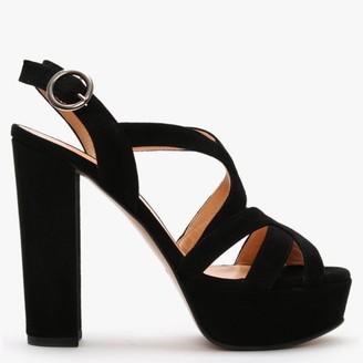 Daniel Prancing Black Sandals