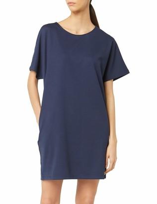 Meraki Women's Loose Fit Short Sleeve Shift Dress with Pockets
