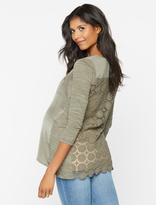 A Pea in the Pod Henley Maternity Top