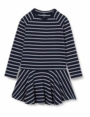 Name It Girl's Nkfvalentina Ls Dress B Playwear