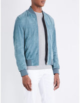 Paul Smith Suede Bomber Jacket
