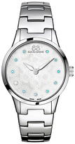 88 Rue du Rhone 87WA153210 Women's Rive Blue Topaz and Diamond Filigree Dial Bracelet Strap Watch, Silver/Mother of Pearl