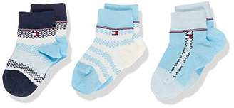 Tommy Hilfiger Baby TH SOCK 3P GIFTBOX NEWBORN,(pack of 3)