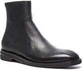 Maison Margiela Brushed Effect Leather Boots