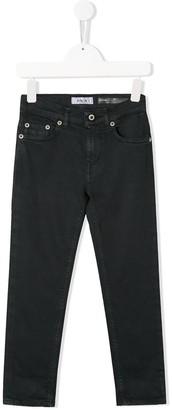 Dondup Kids Five-Pocket Slim-Fit Jeans