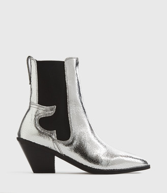 AllSaints Sara Leather Boots