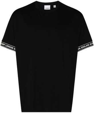 Burberry Logo Tape Oversized T-Shirt