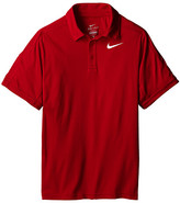 Nike Dry Short Sleeve Tennis Polo (Little Kids/Big Kids)
