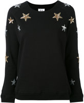 Zoe Karssen star patch sweatshirt - women - Cotton - XS