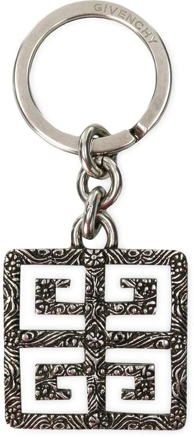 Givenchy logo pendant keyring