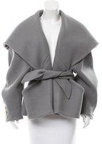 Balmain Belted Wool Jacket