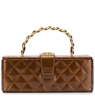 Chanel Pre Owned quilted CC vanity bag