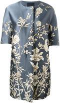 Max Mara floral print coat - women - Polyester - 42