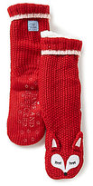 Jane & Bleecker New York Jane & Bleecker Fox Critter Slipper Socks