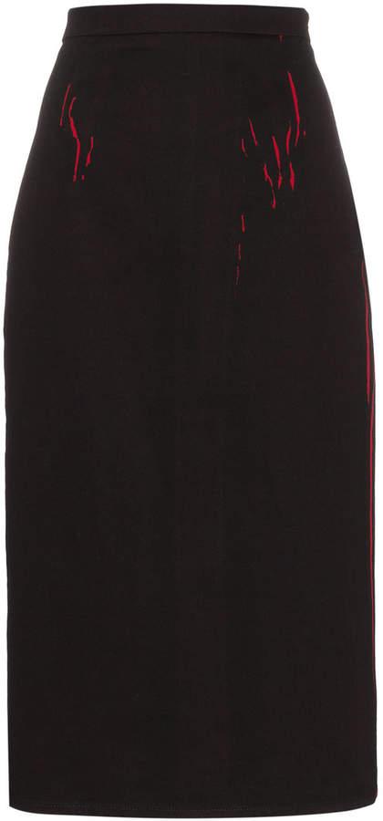 Prada Cotton pencil skirt