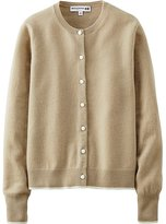 Uniqlo Women Idlf Cashmere Crew Neck Cardigan