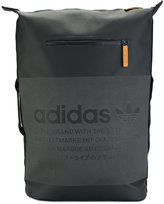 adidas logo print backpack - men - Polyester/Polyurethane - One Size