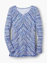 Talbots Aurora Space-Dyed Pullover