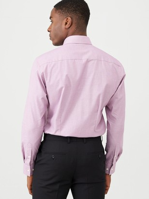 Ted Baker Formal Two Tone Endurance Shirt - Pink